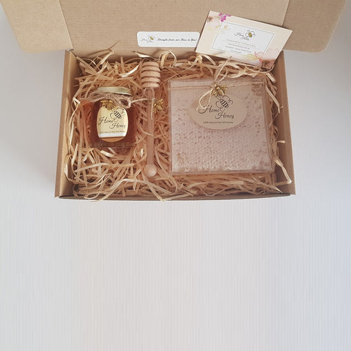 Honey & Honeycomb Gift Box