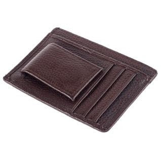 Genuine Leather Money Clip/ Wallet Slim - CedarHumidor
