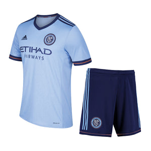 17-18 New York City Home Soccer Jersey Kit(Shirt+Short)