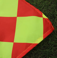 2pcs Soccer Linesman Referee Flag