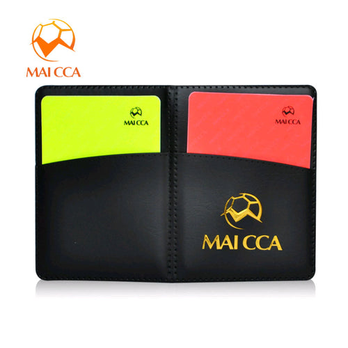 Soccer Referee Card - Includes Red Card, Yellow Card, and Pen