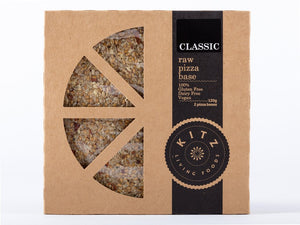Kitz Living Foods Raw Pizza Base Classic 120g