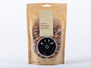 Kitz Living Foods Almonds Active Natural 150g