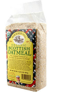 Bob`s Red Mill Organic Scottish Oatmeal Cereal 566g