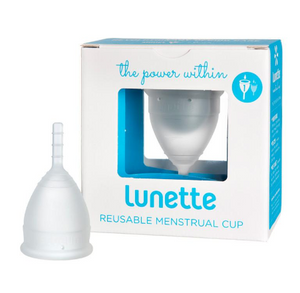 Lunette Resuable Menstrual Cup - Clear (Model 1)