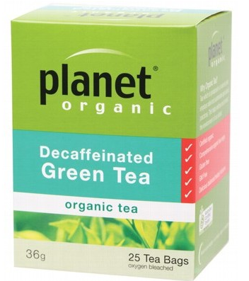 Planet Organic Decaf Green Tea x25 bags