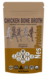 Nes Proteins Org Chicken Bone Broth Original 100g