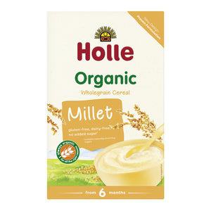 Holle Baby Food Organic Millet Porridge (with rice) 4+ Months 250g