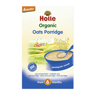 Holle Baby Food Organic Oats Porridge 6+ Months 250g