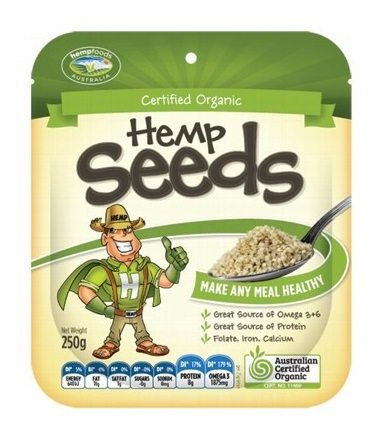Hemp Foods Aust Hemp Seeds Hulled 250g