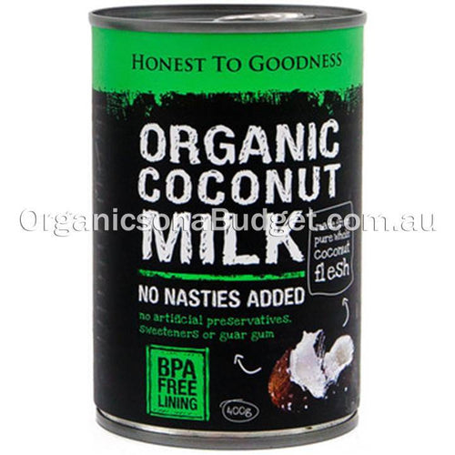 Honest To Goodness Organic Coconut Milk 400g