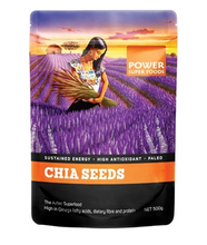 Power Super Foods Chia Power Black & White Seeds 500g 40% OFF