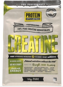 Protein Supplies Australia Creatine100% Pure Powder 500g