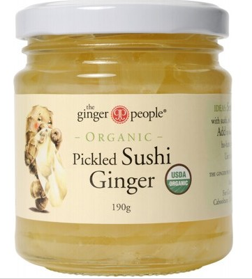The Ginger People Pickled Ginger 190g