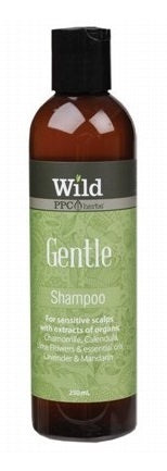 Wild Gentle Shampoo (Sensitive Scalps) 250ml