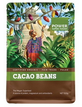 Power Super Foods Organic Cacao Beans 500g