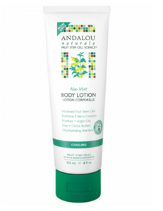 ANDALOU NATURALS Aloe Mint Cooling Body Lotion 236ml