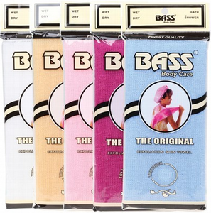 BASS BRUSHES Body Care Exfoliation Skin Towel