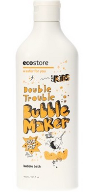 Ecostore Kids Double Trouble Bubble Maker Pear Pop- 400ml