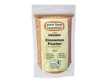 Pure Foods Essentials Organic Cinnamon Powder 80g