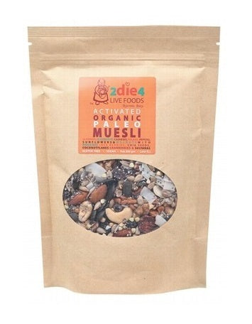 2Die4 Live Foods Activated Organic Paleo Muesli Mix 300g