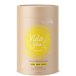 Vida Glow Marine Collagen Pineapple 30 x 3g sachets