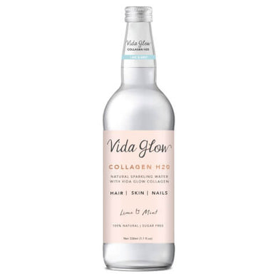 Vida Glow Collagen Water Lime and Mint Sparkling 330ml