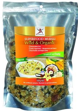 Dr Superfoods - Superfood Muesli Tropical & Exotic - Toasted 500g