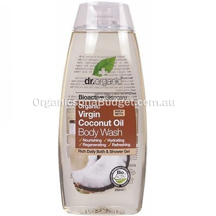 Dr Organic Virgin Coconut Oil Body Wash 250ml