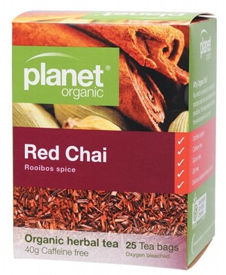 Planet Organic Red Chai Tea 25 bags/40g