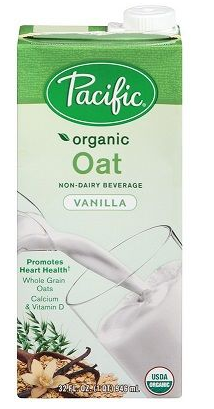 Pacific Foods Organic Oat and Vanilla Drink 946ml