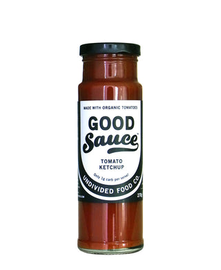 Undivided Food Co. Good Sauce Keto Tomato Ketchup 270g