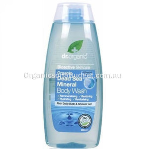 Dr Organic Dead Sea Minerals Body Wash 250ml