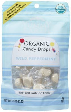 Yummy Earth Organic Wild Peppermint Drops 93g