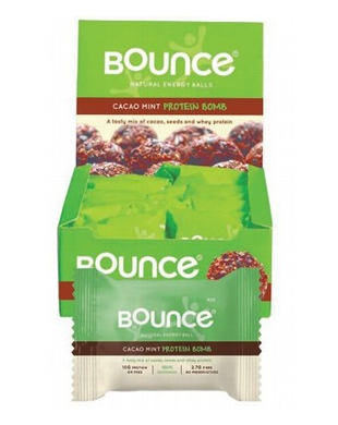 Bounce Energy Balls Cacao & Mint Box 12x49g