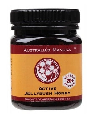 Australia's Manuka Honey Active Jellybush 20+ ULF 250g