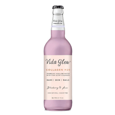 Vida Glow Collagen Water Blueberry and Acai 330ml