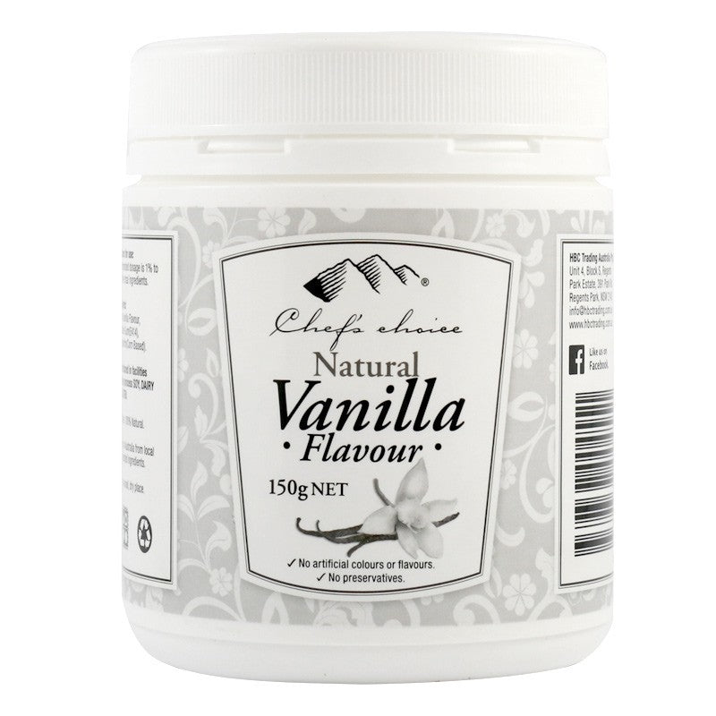Chef's Choice Natural Vanilla Flavour 150g CLEARANCE