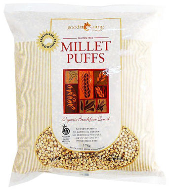 Good Morning Cereals Organic Millet Puffs 175g