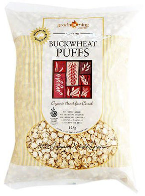 Good Morning Cereals Organic Buckwheat Puffs 125g