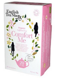 English Tea Shop Organic Wellness Comfort Me Teabags 20pc
