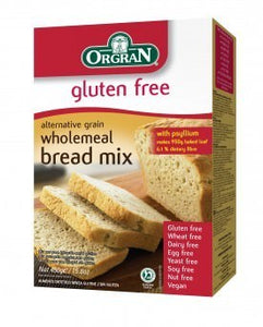 Orgran Wholemeal Bread Mix 450g