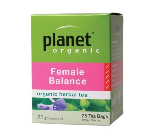 Planet Organic Female Balance Tea  25 bags/25g