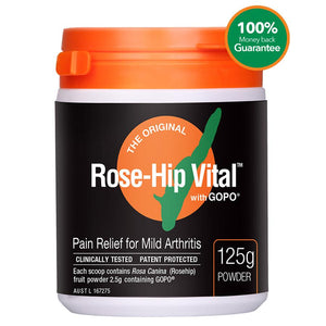 Rose Hip Vital Arthritis Pain Relief Powder 125g
