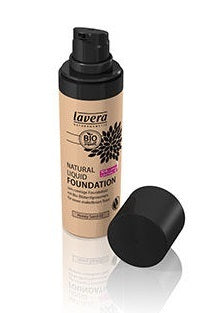 Lavera Natural Liquid Foundation - Honey Sand 03 30ml