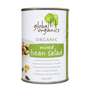 Global Organics Mixed Bean Salad (BPA Free Can) 400g
