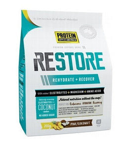 Protein Supplies Australia Restore Hydration Pine Coconut 200g