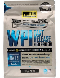 Protein Supplies Australia Whey Protein Isolate 500g