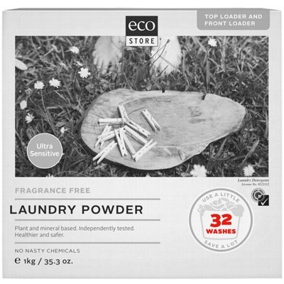 Ecostore Laundry Powder Unscented 1kg