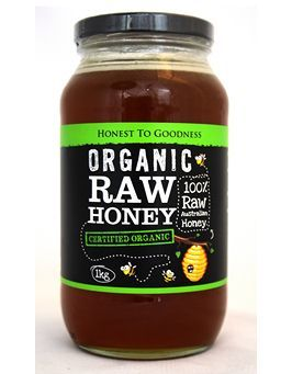 Honest To Goodness Organic Raw Honey 1kg